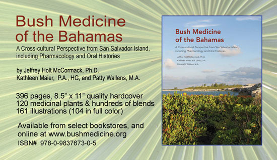 Bush Medicine of the Bahamas summmary and specifications