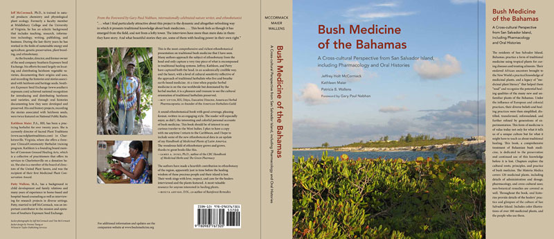 Bush Medicine of the Bahamas book jacket